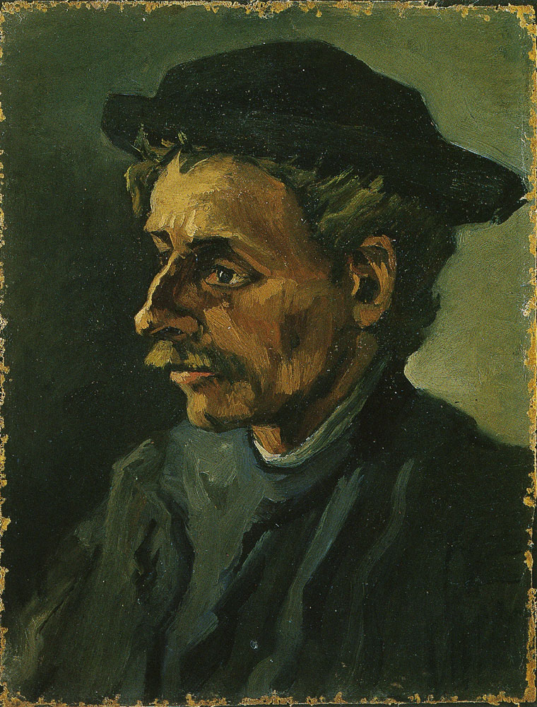 Vincent van Gogh - Head of a man