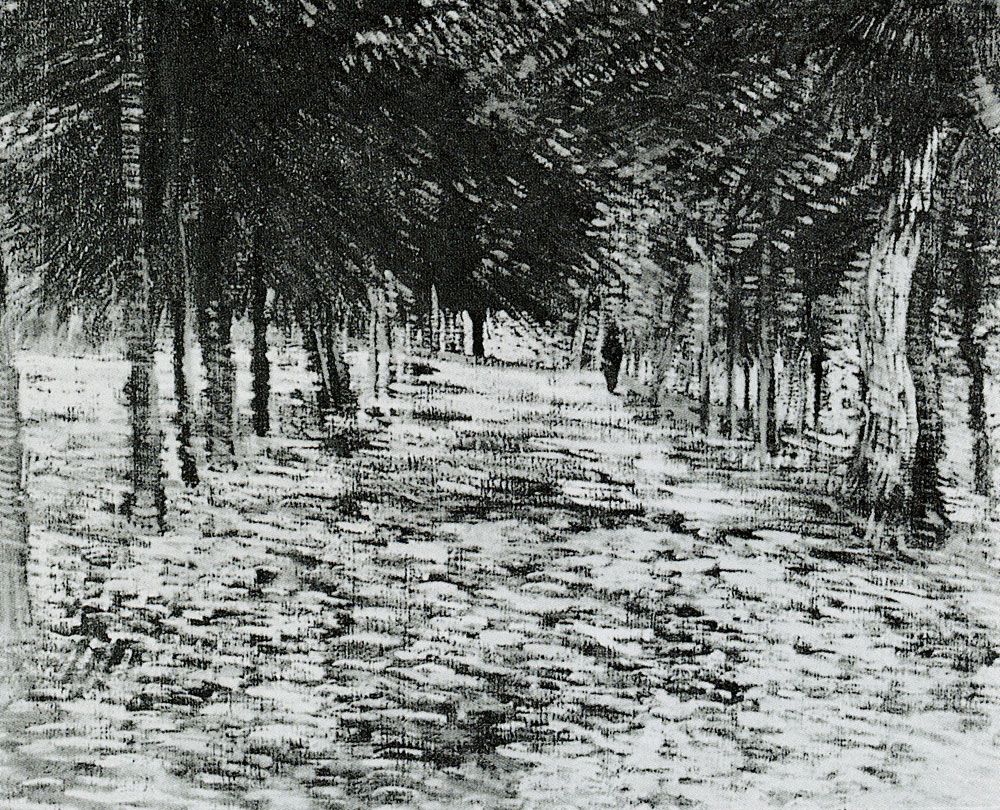 Vincent van Gogh - Lane in a public garden