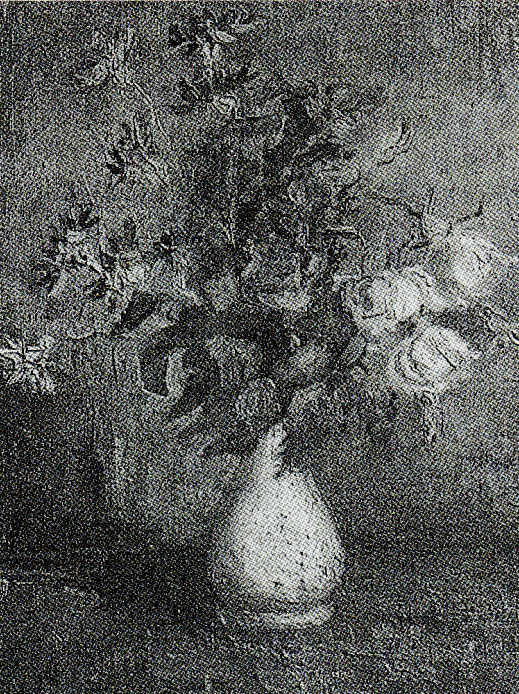 Vincent van Gogh - Vase with roses and other flowers