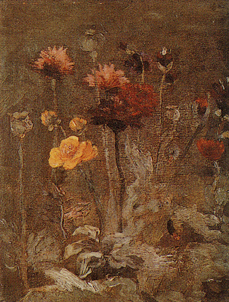 Vincent van Gogh - Scabiosa and ranunculus