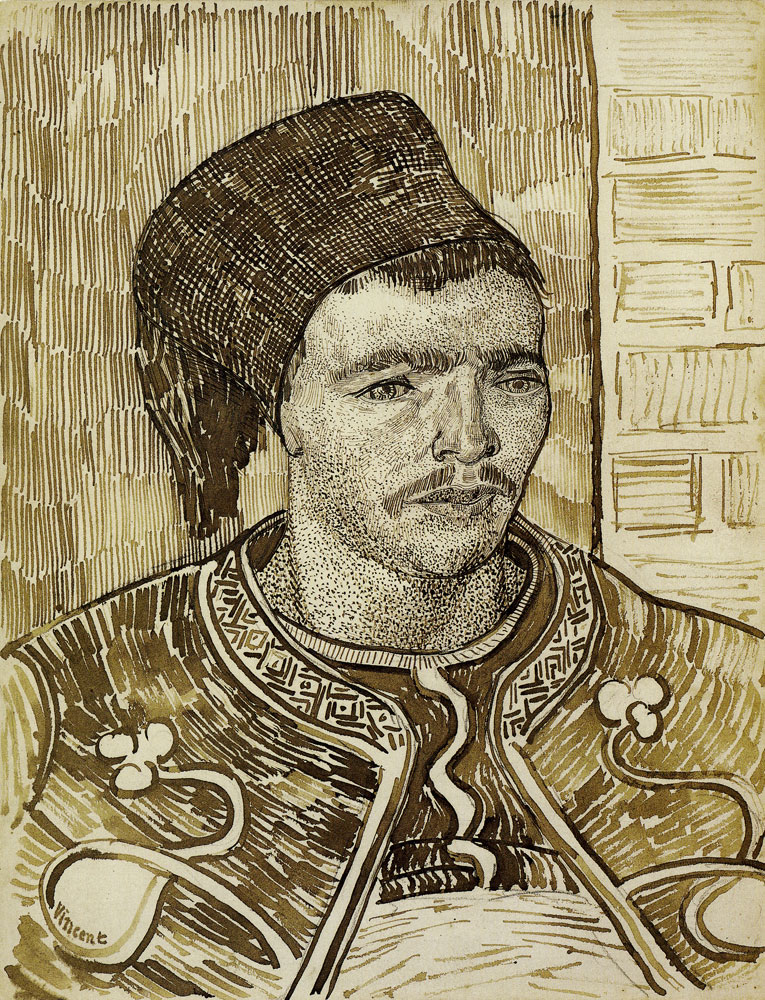 Vincent van Gogh - The Zouave