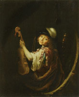 Arnold Boonen Young Violin Player
