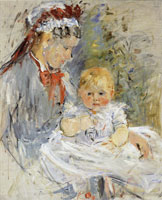 Berthe Morisot - The Wet Nurse