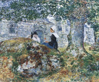 Childe Hassam In Brittany