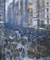 Childe Hassam Fifth Avenue