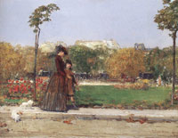 Childe Hassam In the Park