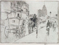 Childe Hassam Union Square