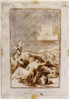 Francisco Goya Dream. Of Lying and Inconstancy