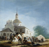 Francisco Goya Sketch for The Hermitage of San Isidro