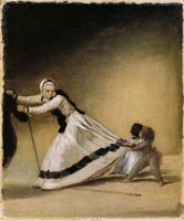 Francisco Goya 'La Beata' with Luis de Berganza and Maria de la Luz