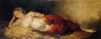Francisco Goya Sleeping Woman