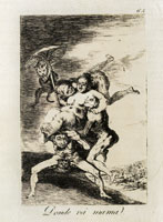 Francisco Goya - Where Is Mother Going?