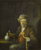 Jacob Toorenvliet The Smoker