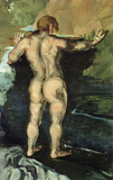 Paul Cézanne Bather at a rock