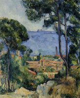Paul Cézanne - View of L'Estaque and the Château d'If