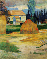 Paul Gauguin Farmhouse in Arles