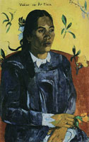 Paul Gauguin Woman with Flower