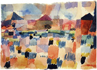 Paul Klee St Germain near Tunis