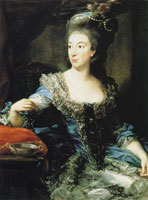 Pompeo Batoni - Portrait of the Countess Maria Benedetta di San Martino