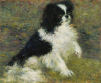 Pierre-Auguste Renoir Tama, the Japanese Dog