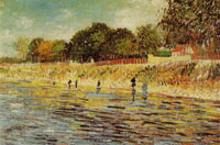 Vincent van Gogh Bank of the Seine