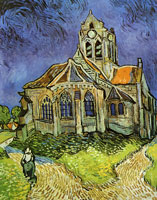 Vincent van Gogh The Church at Auvers