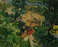 Vincent van Gogh Entrance to a Quarry