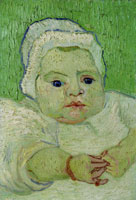 Vincent van Gogh Marcelle Roulin as Baby