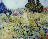 Vincent van Gogh Marguerite Gachet in her Garden at Auvers-sur-Oise