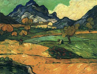 Vincent van Gogh View on Mont Gaussier