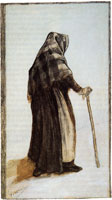 Vincent van Gogh Old Woman Seen from Behind
