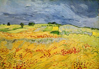 Vincent van Gogh The Plain at Auvers