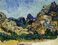 Vincent van Gogh Mountains (Saint-Rémy)