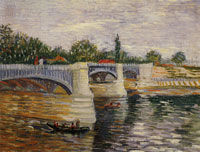 Vincent van Gogh The Seine with the Pont de la Grande Jatte