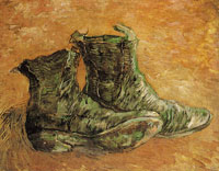 Vincent van Gogh A pair of shoes