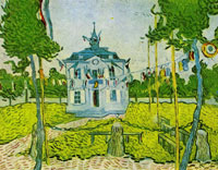 Vincent van Gogh The Town Hall of Auvers