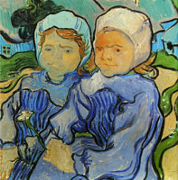 Vincent van Gogh Two Children