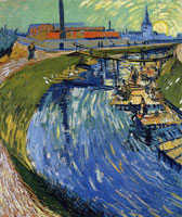 Vincent van Gogh - Washerwomen at the Roubine du Roi Canal