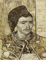 Vincent van Gogh The Zouave