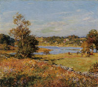 Willard Metcalf The Breath of Autumn (Waterford, Connecticut)