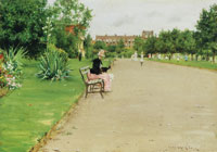 William Merritt Chase A City Park