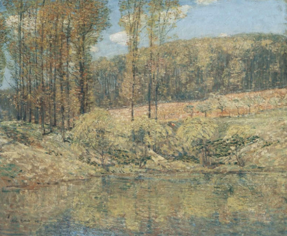 Childe Hassam - Spring Navesink Highlands