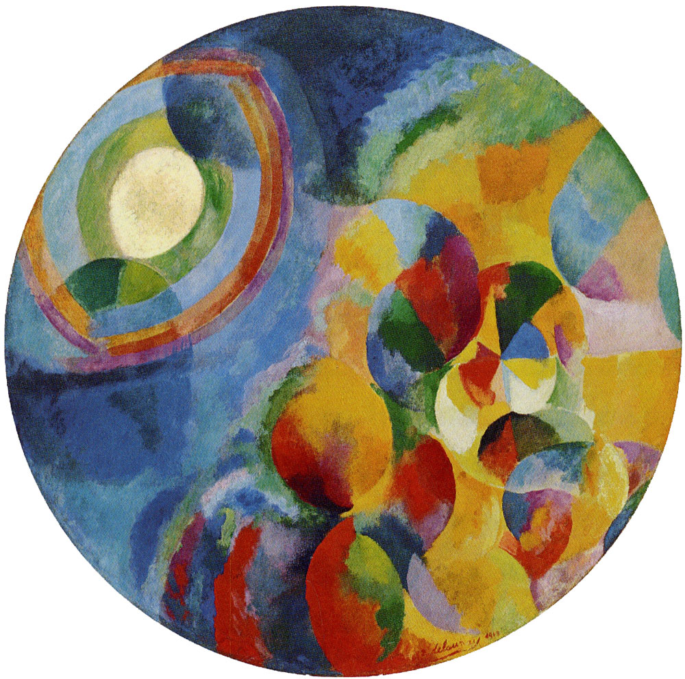Robert Delaunay - Simultaneous contrasts: Sun and moon