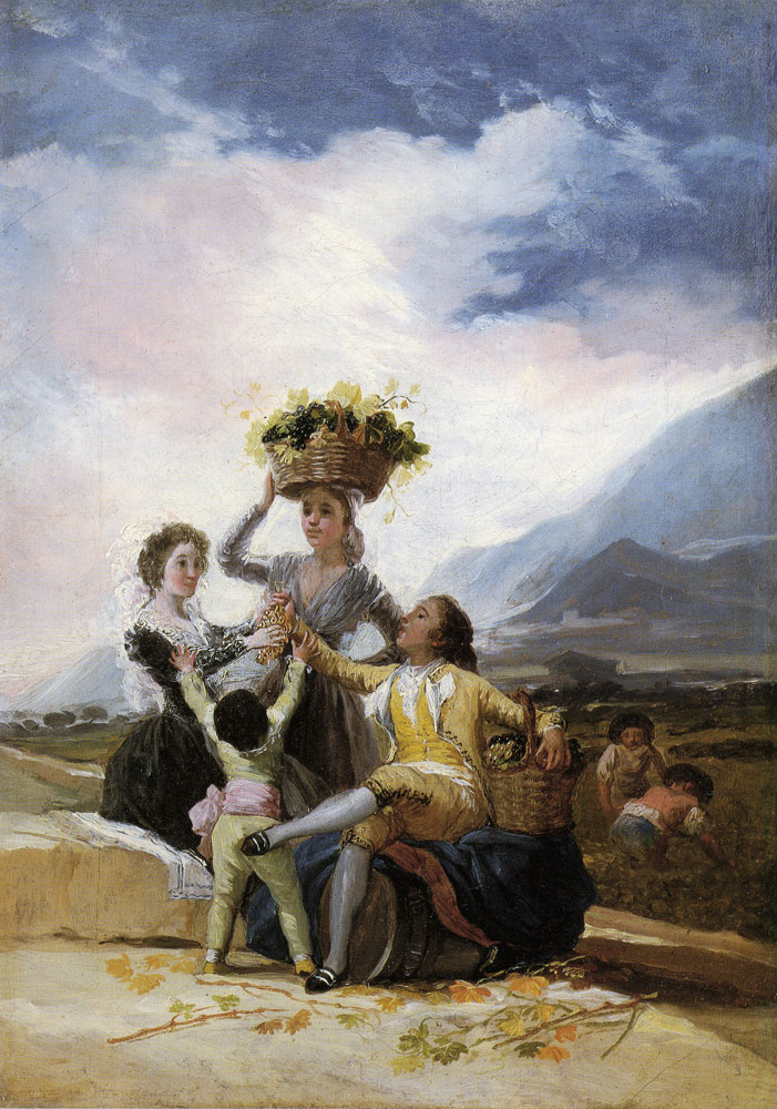 Francisco Goya - Sketch for Autumn or The Grape Harvest