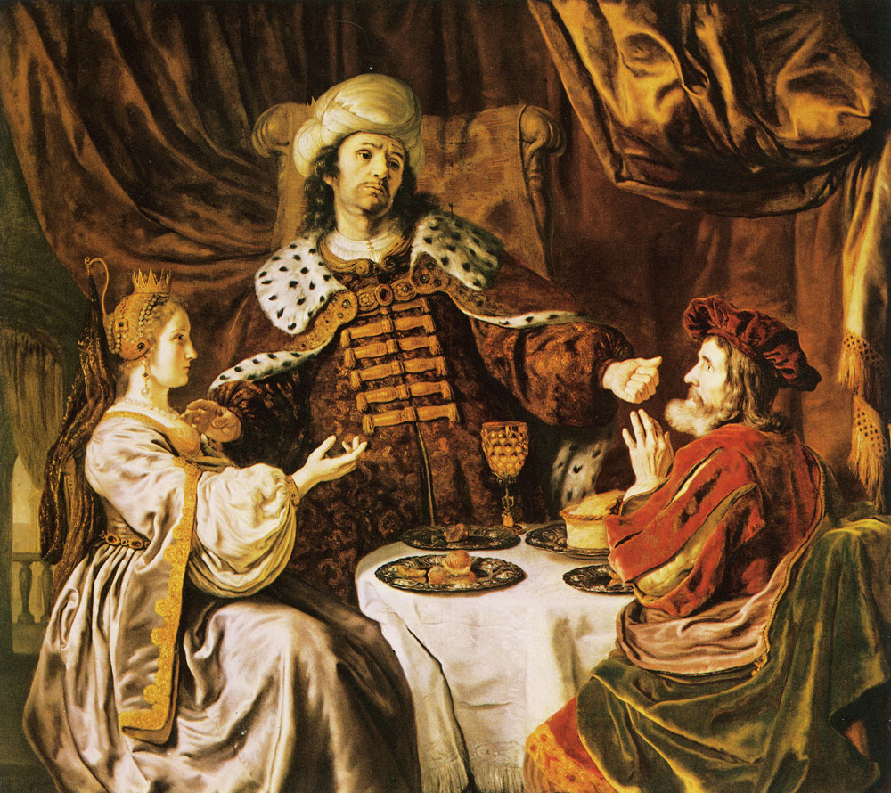 Jan Victors - The banquet of Esther