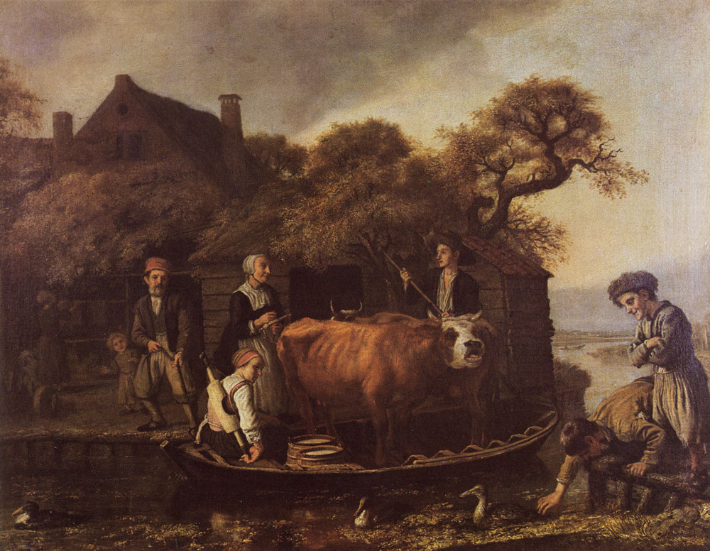 Jan Victors - Fairy with cows