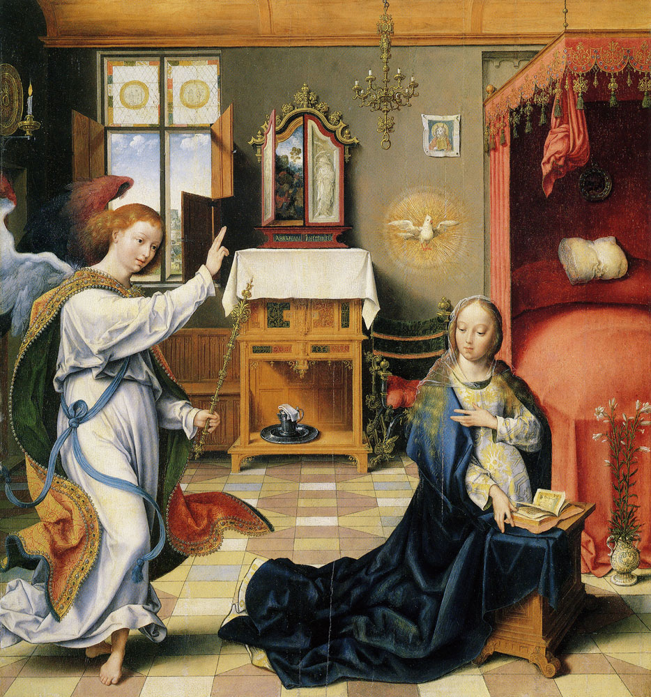 Joos van Cleve - The Annunciation