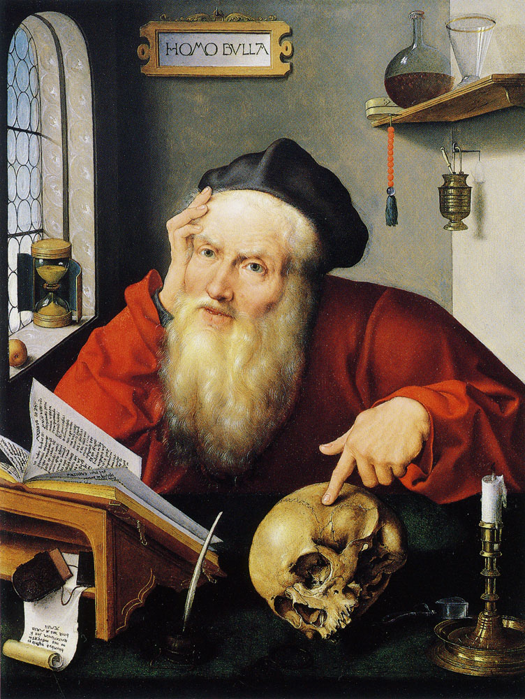 Joos van Cleve - Saint Jerome in his study