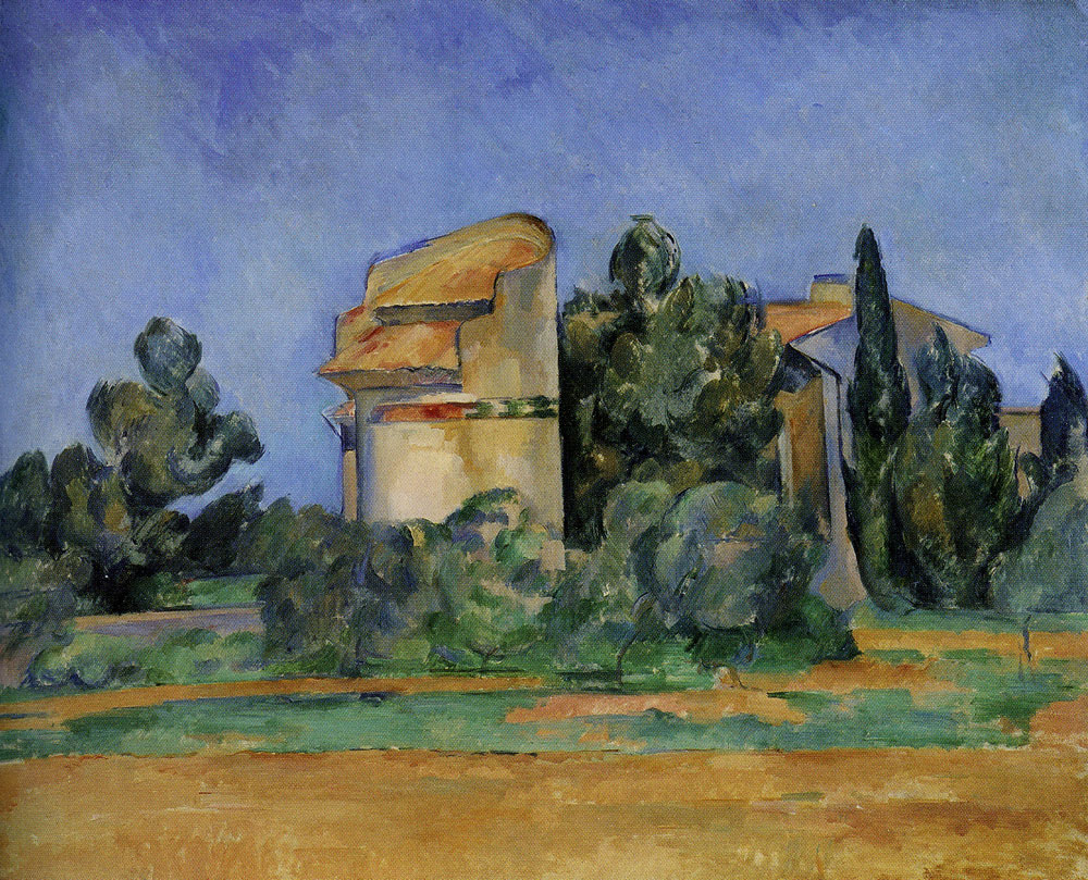 Paul Cézanne - Dovecote at Bellevue