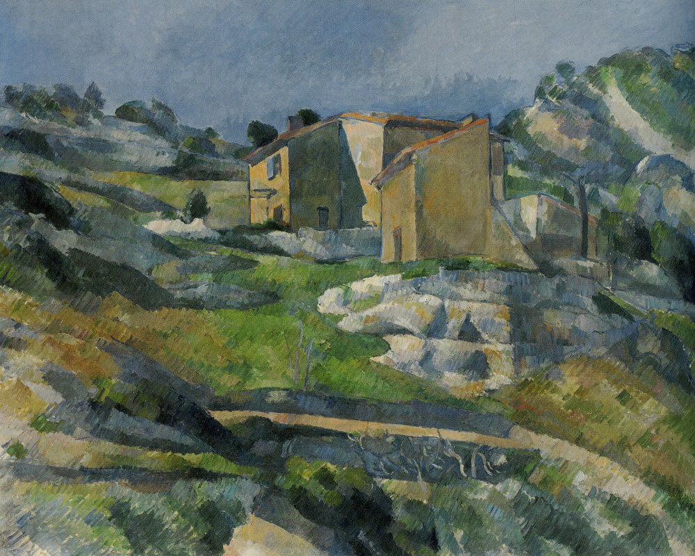 Paul Cézanne - Houses in Provence: The Riaux Valley near L'Estaque